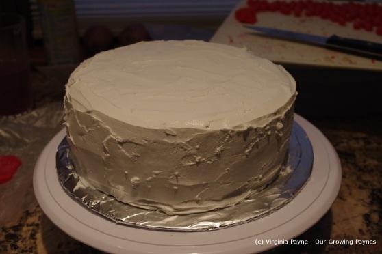 Christmas cake 25 2012