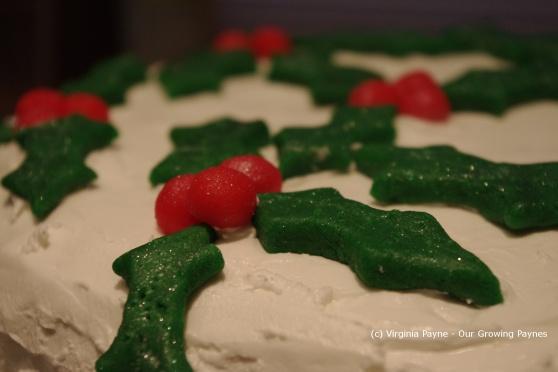 Christmas cake 27 2012