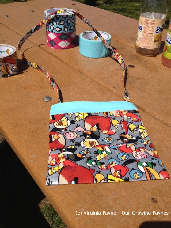 Duct tape purse 6 2013