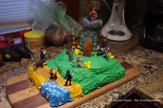 Castle cake 8 2013