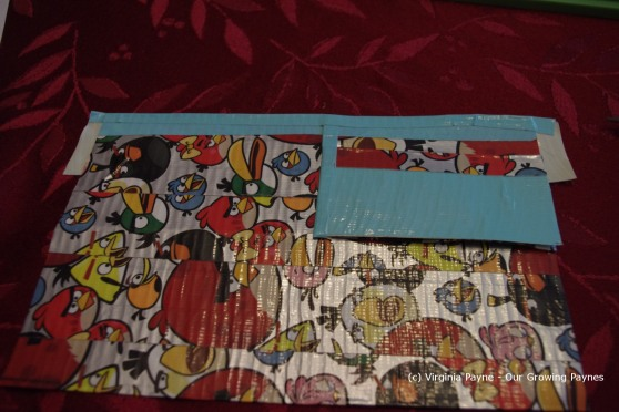 Duct tape wallet 10 2013