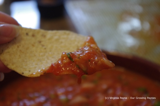 Fire roasted salsa 12 2013