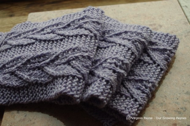 Leaf Scarf from Our Growing Paynes