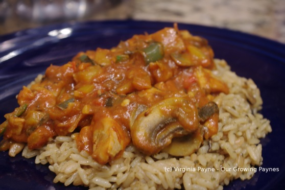 Spicy thai chicken curry 5 2014
