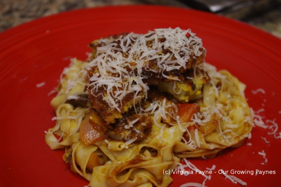 Eggplant parmesan 4 2014