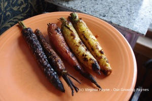Grilled carrots 3 2014