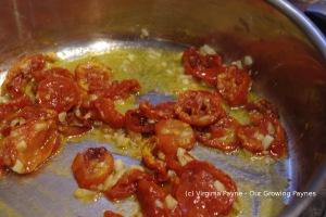 Oven roasted tomato sauce 2 2014