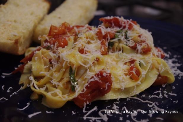 Oven roasted tomato sauce 3 2014