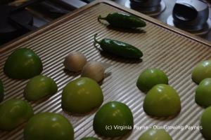 Roasted tomatillo salsa 2 2014