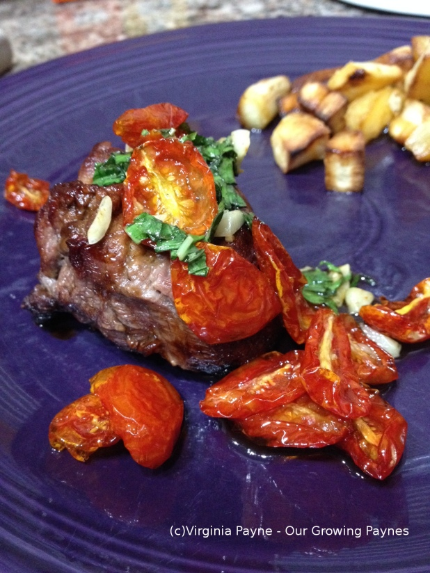 Filet with Oven Roasted Tomato 4 2014