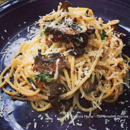 Roasted Mushroom Sauce 5 2015