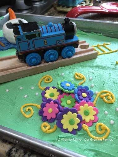 Olaf birthday cake 3 2015